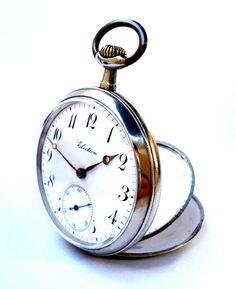 Antiguo Reloj De Bolsillo Suizo ELECTION Open Face por shopvintage1