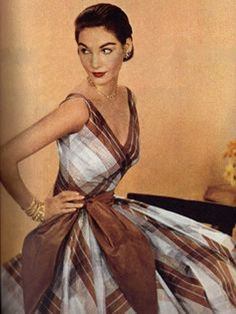 vintage gown 1950's