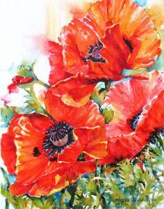 Nicole Gelinas watercolor