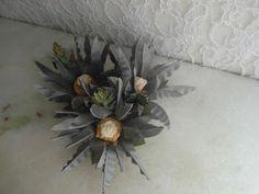 Forminhas para doces finosObra de Arte: Forminha de doces crisântemo,em tafetá