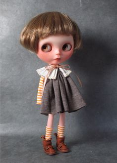 Blythe Doll, simple and elegant!