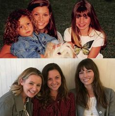 heaven cast reunited Beverly mitchell, Mackenzie Roseman and Jessica Biel Movies Showing, Movies And Tv Shows, Mackenzie Rosman, Tv Show Family, Beverley Mitchell, Heaven Quotes, Seven Heavens, 7th Heaven, Tv Land