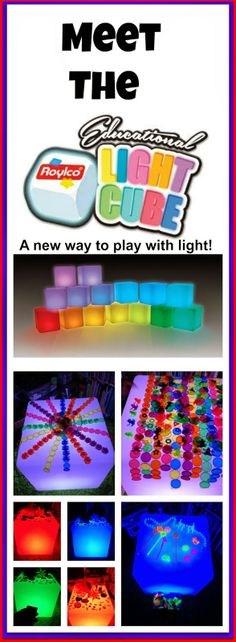 Light Cube-changes colors-CAUTION! Twins at play!: Meet the Light Cube