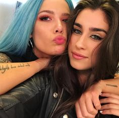 I love them so much!! I'm not a really big 5H fan, but I love Lauren. And I love Halsey. They both sound so good on Strangers. One of my songs of the year for sure.   -Nicea