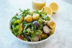 Arugula Recipes, Lemon Recipes, Fruit Recipes, Potato Recipes, Lemon Desserts, Lemon Spaghetti, Lemon Pasta, Grilled Broccoli, Grilled Food