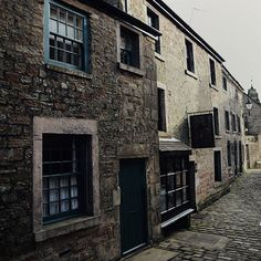 Took a drive to Longnor. . If this street looks familiar it is because it featured as the village of Lambton in the BBC adaption of Jane Austen's 'Pride and Prejudice' as well as other films and tv series. . Although Austen's village of Lambton is widely believed to be based on 17th century Bakewell (another Derbyshire village with a bloody awesome Austrian sausage shop..and of course the Bakewell tart shop), it is Longnor which was used for shots of the village.