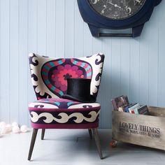 Suzani Fabric/chair
