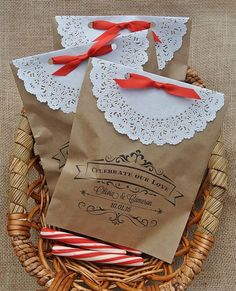 Favor Bags,  Wedding Favors , Rustic Wedding, Country wedding,  by abbey and izzie designs
