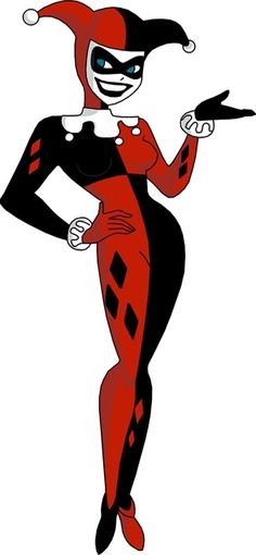 Harley Quinn as she appears in 'Batman: The Animated Series'