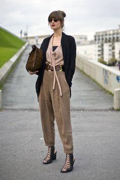 Juliette in Paris (Street Peeper) #streetstyle