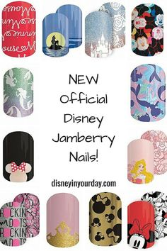 Jamberry has released some new nail wrap collections featuring Disney!  We've got Minnie Mouse, the Little Mermaid, and Sleeping Beauty, plus more to come!