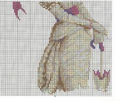 Victorian lady cross stitch 2