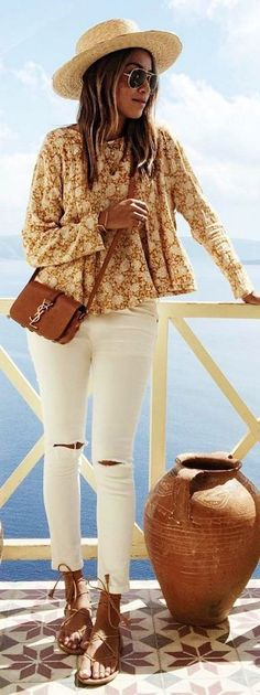 #sincerelyjules #spring #summer #besties | Earth Tones + White