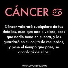 Dices que no, pero amor cancer soy y cualquier cosa valoro, aún que tú no lo quieras ver R&M