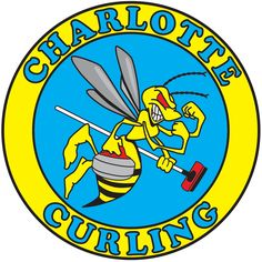 Charlotte Curling pin design