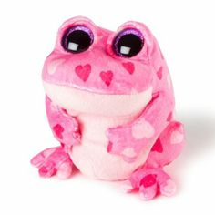 Ty Beanie Boos Plush Smitten the Frog Ty Beanie Boos Collection, Ty Plush, Ty Babies, Ty Toys, Little Valentine, Valentines, Beanie Buddies, Cute Stuffed Animals, Plush Animals