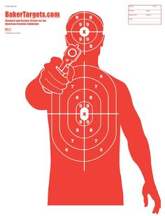 """Amazon.com : Silhouette Target Pack - 23"""" x 35"""" : Sports & Outdoors"""
