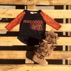 Southern Grace Oklahoma Aztec Black