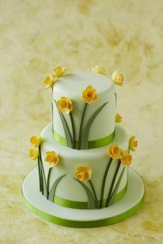 #CakeDecorating #Daffodil #Cake #Issue33