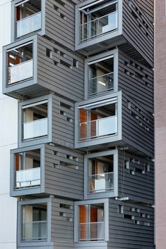 Carre Seine Housing by Pietri Architectes