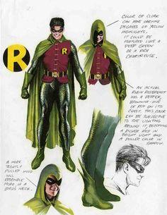 Alex Ross-NightWing-Robin color designs, in Sal Abbinanti's AlEX Comic Art Gallery Room Comic Book Artists, Comic Book Characters, Comic Character, Comic Books Art, Comic Art, Character Design, Alex Ross, Arte Dc Comics, Marvel Comics