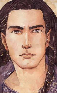 Fingon, watercolour, 2011 | Jenny Dolfen's Blog