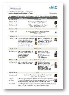"""Am 26.9. veranstaltet QuinScape den 6. Dortmunder Enterprise 2.0 Kongress. Bis 31.7. ist eine kostenfreie Anmeldung möglich.  Der Kongress fokussiert das Thema """"Vereinfachung von Abläufen in Organisationen durch den Einsatz moderner IT-Werkzeuge"""".  Am Rande der Präsentationen werden Lösungen """"live"""" präsentiert. Das optionale Abendprogramm ermöglicht ein ungezwungenes Zusammenkommen und Netzwerken."""