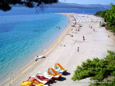 Beach Zlatni Rat - It is said that it is the only one in the world which was formed in a way that spreads vertically towards the coast. It stretches for a half a kilometer into the sea clarity. Croatian Islands, Famous Buildings, Spreads, Rat, Clarity, Stretches, Tourism, World, Beach