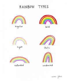 Fresh From The Dairy: Rainbows Photo