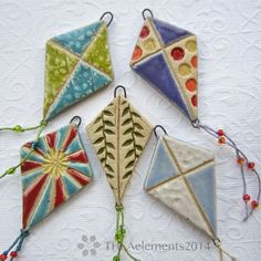 Art Jewelry Elements: Bead Fest - Sneak Peek - Beautiful and Different Thoughts and Ideas Ceramic Pendant, Ceramic Jewelry, Ceramic Beads, Ceramic Clay, Clay Beads, Ceramic Pottery, Porcelain Jewelry, Polymer Clay Crafts, Polymer Clay Jewelry