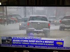 Snowstorm - ABC Good Morning America - 3/2/16