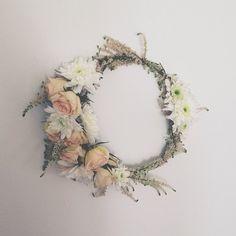 Inspiration: Fresh Flower Crown