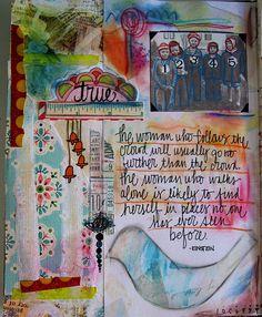Art Journal Page   Flickr - Photo Sharing!