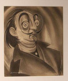 Dalí dibujo - Ernesto Garcia Cabral