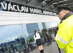 Opening of Vaclav Havel International Airport in Prague. International Airport, Czech Republic, Prague, Roman, Louvre, News, Author, Louvre Doors