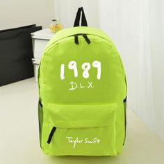 taylor swift 1989 dlx luminous backpacks for girls or boys – Cool fashion  backpack 863c1938be93c