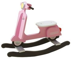 How could our little one not have one of these??? He or she has to have one like their daddy's scooter. :)