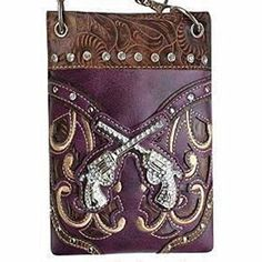 New Trending Bumbags: The Chic Bag - Rhinestone Cowgirl 4-way Bag - Crossed Pistols with Crystals and Intricate Laser Glitter Detail (Purple; 6x8x1in) - BUY 2 GET A 3rd BAG FREE!. The Chic Bag – Rhinestone Cowgirl 4-way Bag – Crossed Pistols with Crystals and Intricate Laser Glitter Detail (Purple; 6x8x1in) – BUY 2 GET A 3rd BAG FREE!  Special Offer: $39.95  444 Reviews The Chic Bag designs and manufactures innovative cross-body designer...