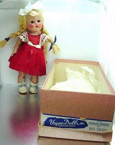 1952 Vogue Ginny Doll w/Original Box & Kay #23 Series - Kindergarten Series Outfit