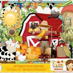 Kit digital doce fazenda - http://acriativo.com/loja/index.php?main_page=product_info=34_id=618