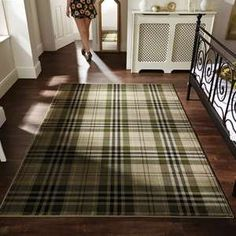Glen Kilry Rugs in Blue - Free UK Delivery - The Rug Seller
