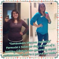 RESULTS!! Rebecca has followed her nutrition plan and is loving her result! #youcandoit #healthyliving #herbalife