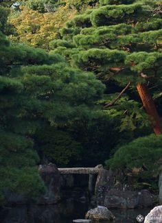 The gardens of the imperial vKatsura villa in kyoto