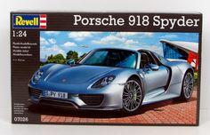 Porsche 918 Spyder Revell 07026 1/24 New Car Model Kit – Shore Line Hobby