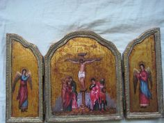 Religious Icon of the Crucifixion from by HamedianGallery on Etsy