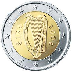 Ireland €2 (two Euro) Coin