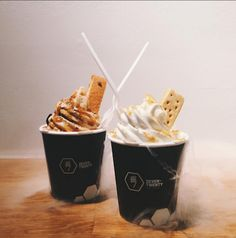 We interview 720 Sweets - an innovative ice cream shop in Kitsilano, Vancouver! Click to read more...  Photo Credit: @candycomplex | Instagram Grass Jelly, Photo Credit, Vancouver, Caramel, Sweet Treats, Interview, Ice Cream, Sweets, Shop