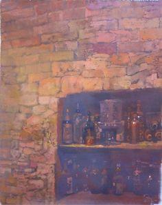 Bernie Fuchs, Rare Treasures oil on linen