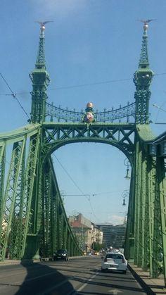 Budapest George Washington Bridge, Budapest Hungary, Bavaria, Tower Bridge, Brooklyn Bridge, Bridges, Places Ive Been, Exploring, Liberty