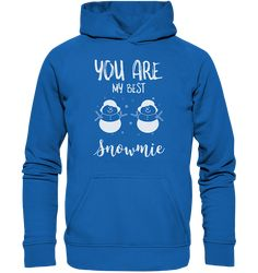 You Are My Best Snowmie -Kinder Hoodie I Am Awesome, Material, Hoodies, Sweaters, Design, Fashion, Cool Kids, Cotton, Moda